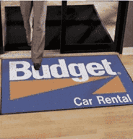 Outdoor entrance logo FLOOR MATS