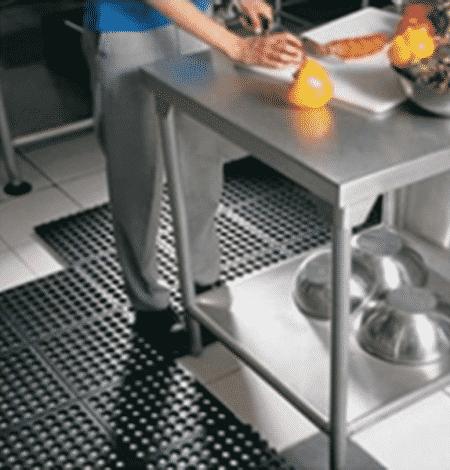 rubber kitchen anti-fatigue mat for restaurants