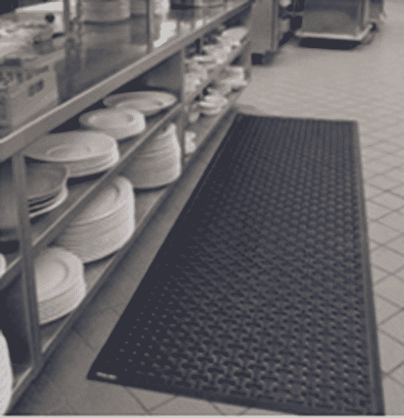 rubber kitchen mat for restaurants