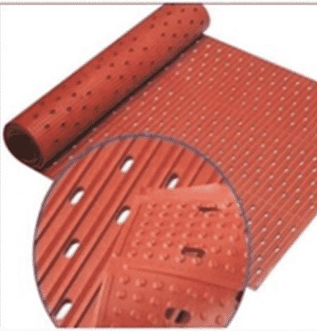 Antifatigue kitchen roll mat